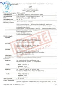 Výpis z obchodního rejstříku (str. 1)