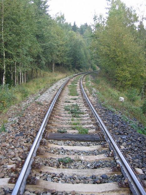 trať Bakov nad Jizerou–Česká Lípa před opravou