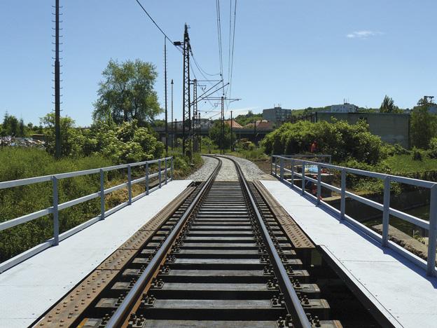 zrekonstruovaná kolej na trati Obrnice–České Zlatníky, nový stav
