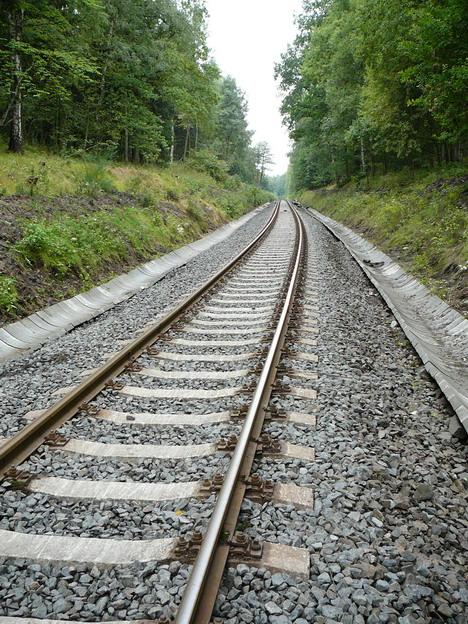 mezistaniční úsek Rumburk–Šluknov, kolej po opravě