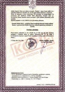 Licence k provozování drážní dopravy (str. 2)