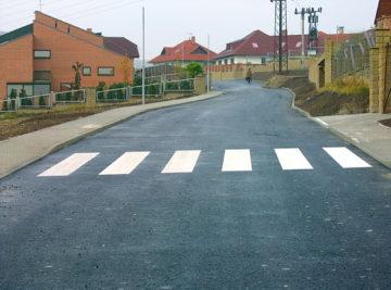 výstavba komunikací v Litoměřicích, Meruňková ulice – nový stav