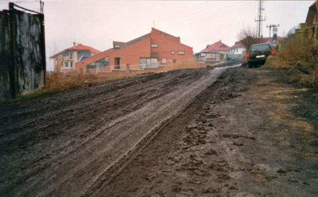 výstavba komunikací v Litoměřicích, Meruňková ulice – původní stav