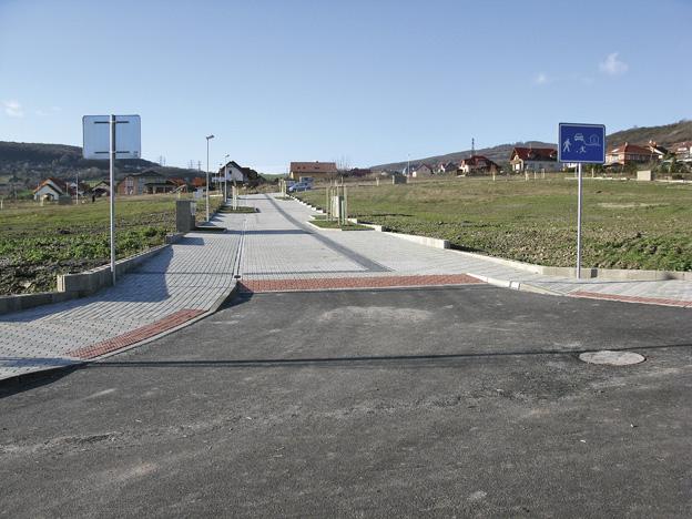 výstavba inženýrských sítí v Litoměřicích, Miřejovická stráň – nový stav