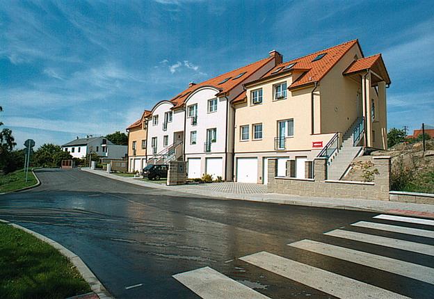 výstavba komunikací v Litoměřicích, Višňová ulice – nový stav