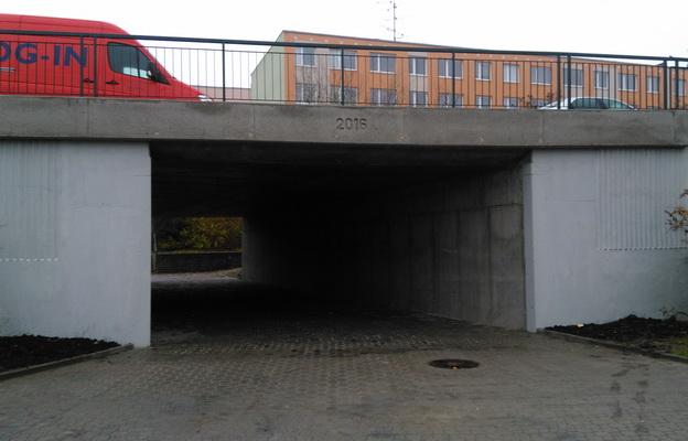 nový podchod v ul. Vladimírská