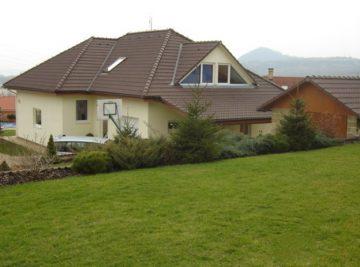 rodinný dům v Litoměřicích, hotové dílo