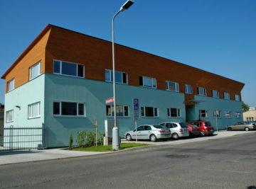 sídlo firmy v Litoměřicích, hotové dílo