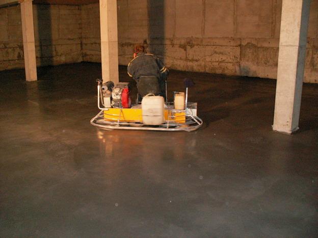 sídlo firmy v Litoměřicích, realizace přesných betonových podlah