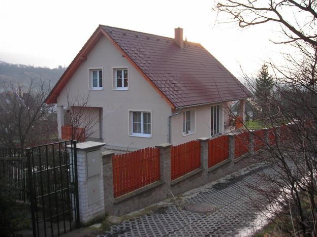 rodinný dům v Žitenicích, hotové dílo