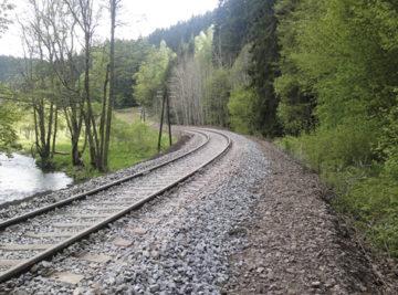 Rekonstrukce trati Bečov—Karlovy Vary; nový stav