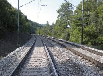 trať Lysá nad Labem–Ústí nad Labem západ, zrekonstruované koleje