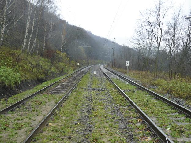 trať Lysá nad Labem–Ústí nad Labem západ, původní stav