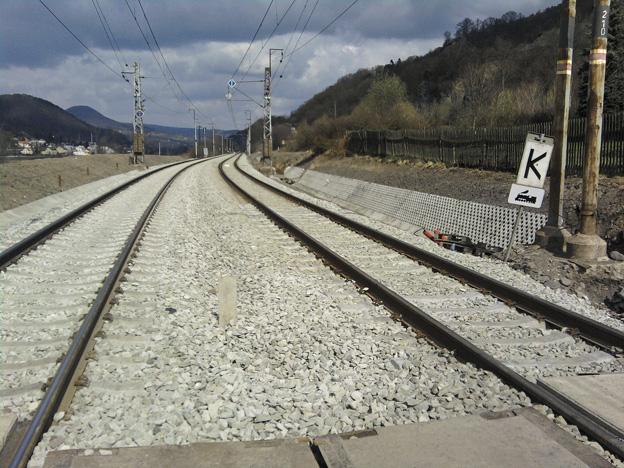 trať Ústí nad Labem–Děčín, stav po opravě