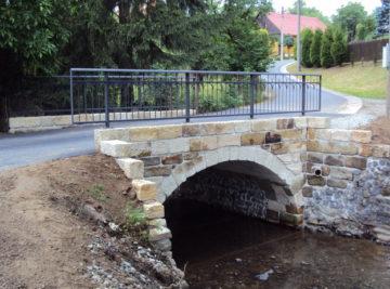most Volfartice, nový stav po opravě