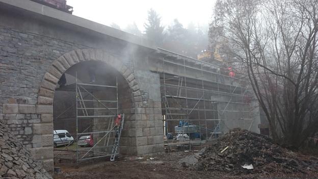 most km 32,375, sanace spodní stavby