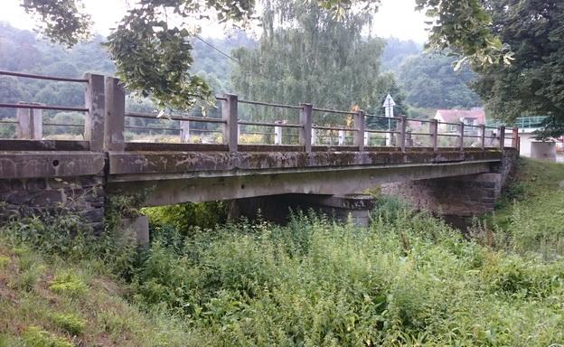 původní stav most Pustověty