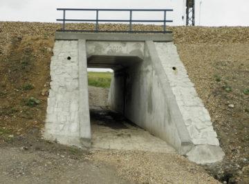 Kotopeky, nový železobetonový most
