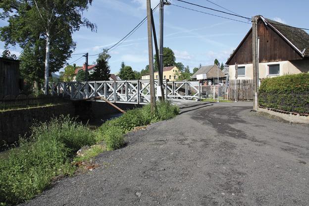 Dolní Habartice, mostní provizorium