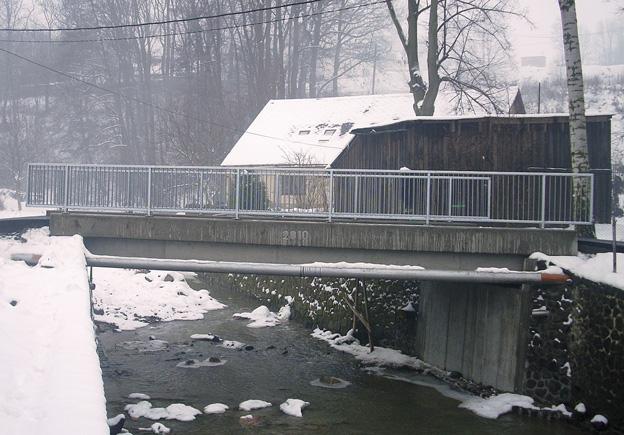 Dolní Habartice, nový železobetonový most na včetně výroby a osazení zábradlí