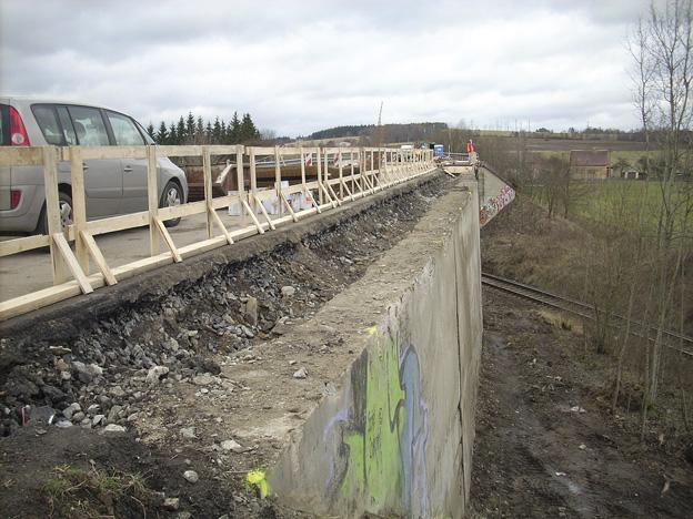 most u Hazlova, původní stav