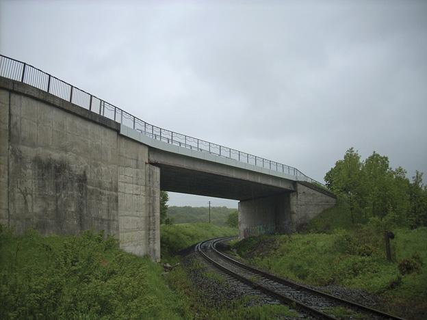 most u Hazlova, nový stav