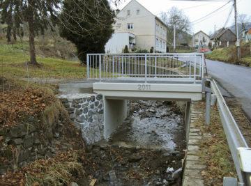 Heřmanov; opravený mostek