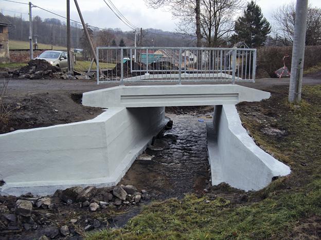 Heřmanov, opravený mostek