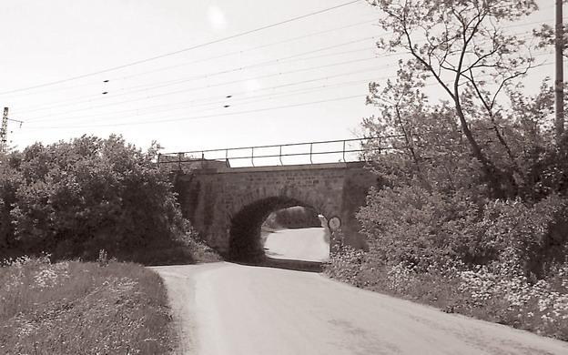 most Hrdly, původní stav