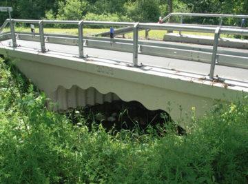 most v Klínkách, dokončené dílo