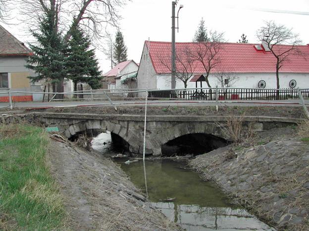 most Lkáň, původní stav