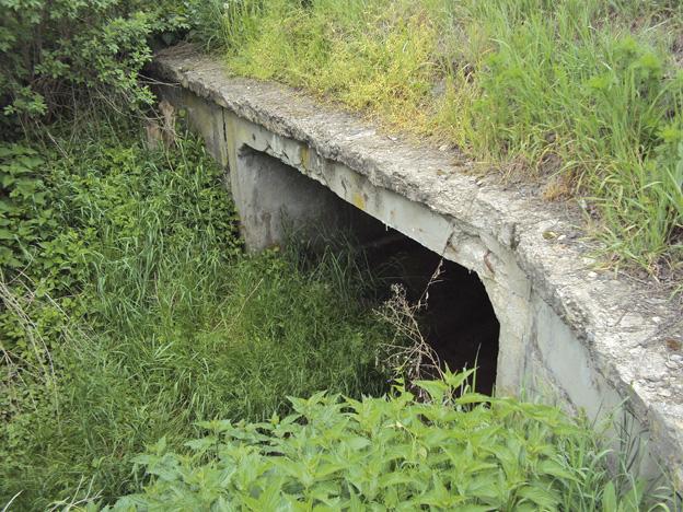 silniční most u Ploskovic, původní stav