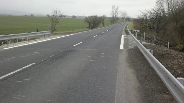 silniční most u Ploskovic, nový stav