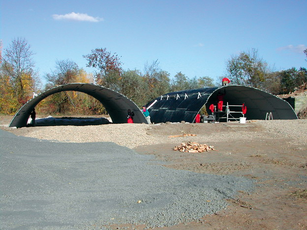most na trati Postoloprty–Louny, pohled na smontované tubosidery