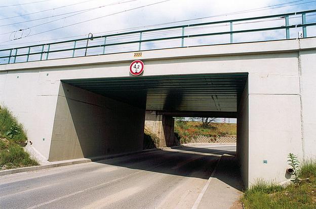 most Račice, nový stav