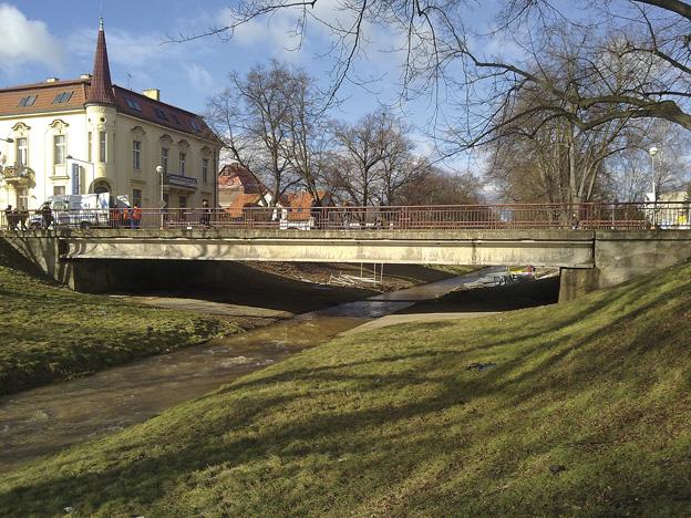 most v Rakovníku, původní stav