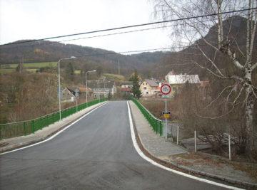 most ve Stráži nad Ohří, dokončené dílo