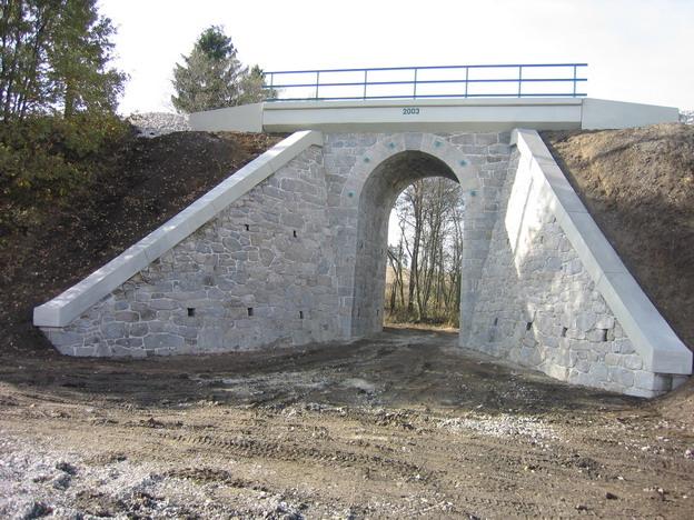 most Střelské Hoštice, nový stav