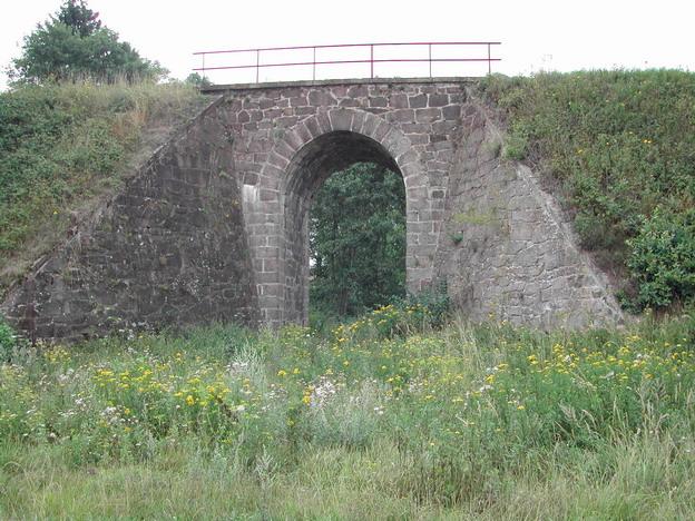 most Střelské Hoštice, původní stav