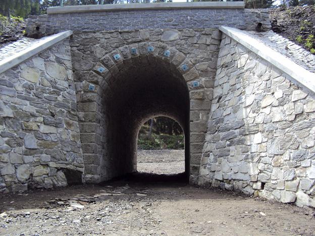 Rekonstrukce kamenné klenby