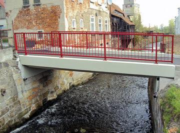 Rekonstruovaný most v Dolním Podluží