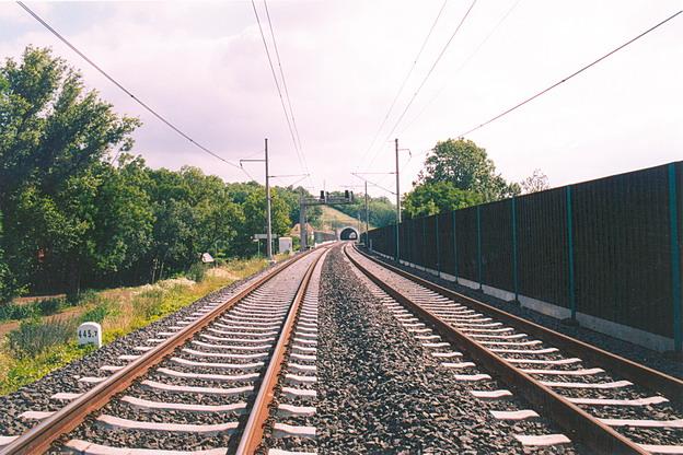 protihluková zeď Vepřek – železobetonové panely