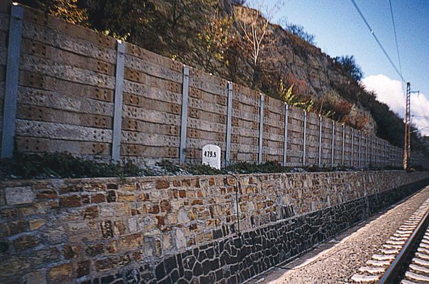 nová opěrná zeď v Židovicích