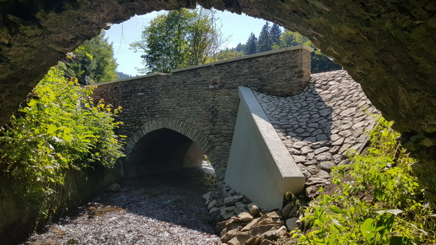 oprava mostu přes Jáchymovský potok