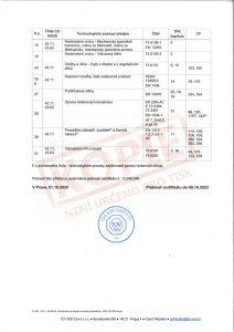 Certifikát v oboru výstavba, rekonstrukce a opravy pozemních komunikací c